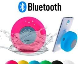 Mini caixa de som bluetooth prova D água portátil banheiro, piscina, chuveiro