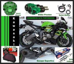 Acessórios Kawasaki (alta performance)