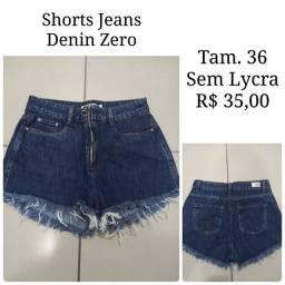 Shorts Denin