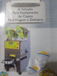 Embaladora automática de potes