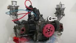 Motor de Fusca preparado 1915cc PARCIAL, dupla carburação WEBER 44