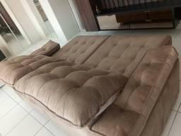 Vendo sofa versatil reclinavel