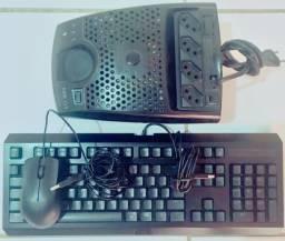 Teclado, Mouse & Módulo Isolador