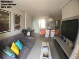 Cond. Equilibrium Residence , 110m², semi-mobiliado, parque 10, 2 vagas