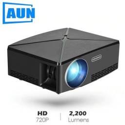 ae346394721 Projetor Aun C80 UP - 2200 lumens - 720p