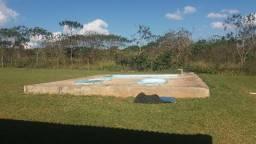Alugo Sitio: Piscina Campo Futebol\ Churrasqueira\ Qd. de Voley Ponte Alta - Gama