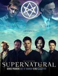 Sobrenatural, apenas 4,00 por temporada. Passo para seu PC, PENDRIVE ou HD