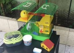 Gaiola mansão hamster