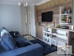 Lindo apartamento no Villa Flora Hortolandia, armários em todos ambientes, 2 quartos, 50 m