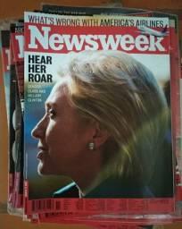 DOAÇÃO - Revistas Newsweek ano 2008