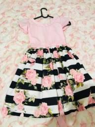 Vendo Lindo vestido infantil por perda do tamanho