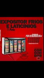 Expositor 5 portas Refrimate ALESSANDRO *