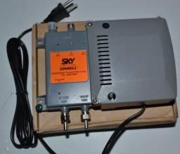 Amplificador Faixa Larga SKY para Sistemas multi-usuarios SMU coletivos