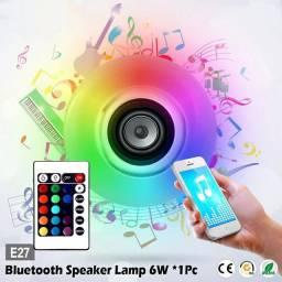 Led música bulbo e27 barra ktv luz inteligente led alto-falante