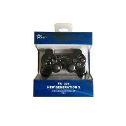 Controle Sem Fio  P/ Playstation 3 - Novo
