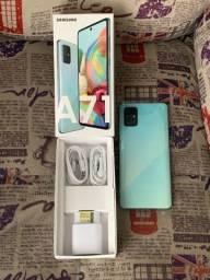 Galaxy A71 128GB Novo