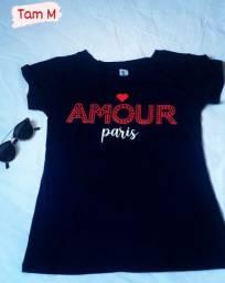 Camisas femininas T shirt
