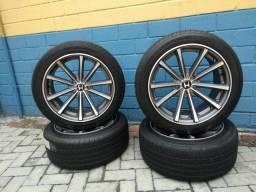 Jogo de rodas e pneus aro 18