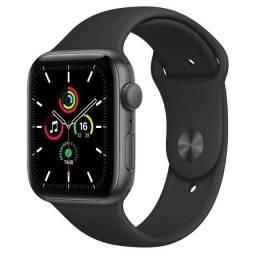 Apple Watch Serie SE 44 mm Cinza (Space Gray). Novo. Aceito Troca