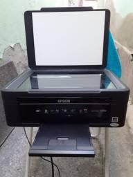 Impressora e teclado novinho