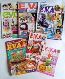 Vendo coleção com 6 revistas com técnicas em EVA