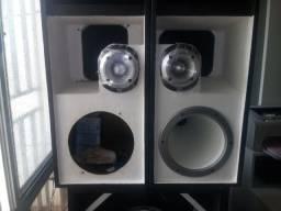 Caixas de som para carro e residencia