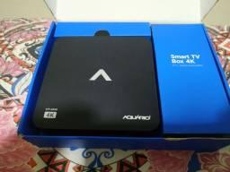 Smart Tv Aquário Box - Stv-2000 Homologado - Anatel<br><br>
