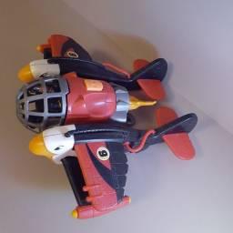 Avião Imaginext Águia Vermelha