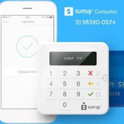 Máquina SumUp Top Sem Aluguel e Link de Pagamento