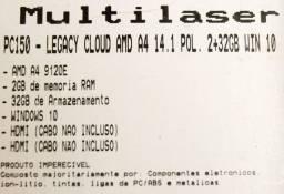 """Notebook 14"""" polegadas Multilaser"""