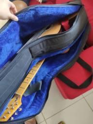 Sorte Case Luxo Duplo Guitarra e Violão