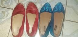 Sapatilha e bota