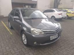 Etios Sedan XLS 1,5 c/ gnv ótimo estado