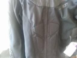 Jaqueta motociclista masculina