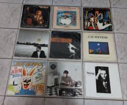 VINIL- LOTE C/12 LP'S/ U2 /STING/CAT STEVENS +