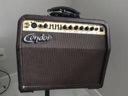 Caixa amplificador acústico violão e voz condor ac30r