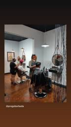 Cadeira barbeiro salão maquiadora