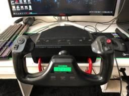 Logitech Saitek Pro Flight Yoke System Manche Com Manete