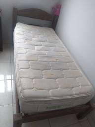 Colchão de mola e cama de Solteiro