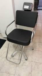 Cadeira para salão de beleza super nova