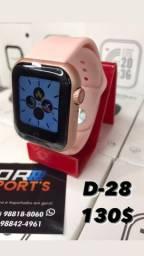 SmartWatch d28, relógio inteligente