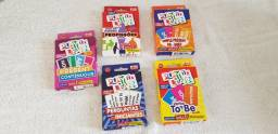 Jogos de cartas - Play to Learn - Aprenda Inglês Brincando