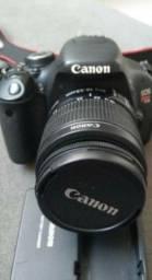 Canon T3i + Lente 18-55mm. 18mpx E Full Hd