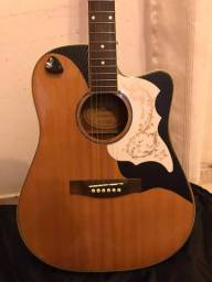 Troco os dois por violão Takamine