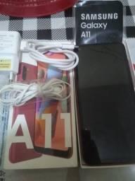 Vendo Samsung A11 aparelho 2 meis de uso na garantia