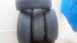 Jogo de 4 pneus pirelli scorpion ATR 205/60 R 16 usados