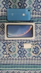 IPhone XR Azul 128GB (O mais novo da OLX) 100% SAÚDE DE BATERIA