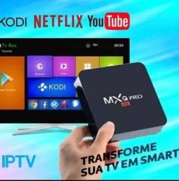 Tv Box 4K MXQ Pro