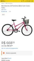 Vendo bicicleta  dou DESCONTO faço  preço  menor