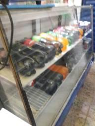Balcão expositor refrigerador usado